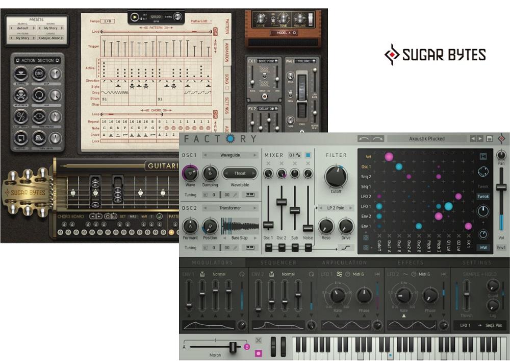 [DTMニュース]sugar-bytes-factory-guitarist-1