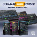 [DTMニュース]W.A Productionの「MIDIQ」「Instascale」「Instachord」が収録された「Ultimate MIDI Bundle」が92%off!