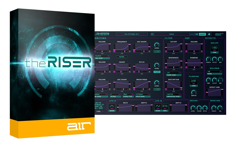 [DTMニュース]air-music-the-riser-1