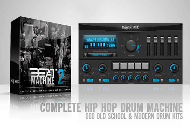 [DTMニュース]dopesonix-hiphop-beat-machine-2-2