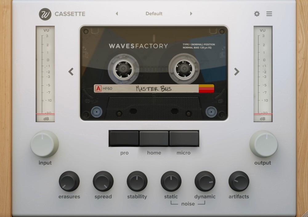 [DTMニュース]wavesfactory-cassette-tape-1