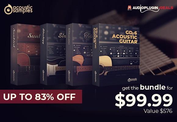 [DTMニュース]acousticsamples-guitar-bundle-580x400