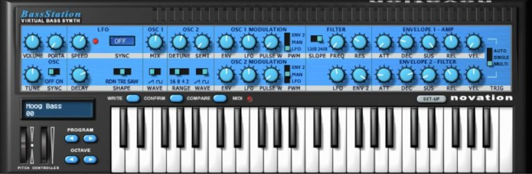 [DTMニュース]novation-bass-station-1