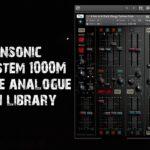 [DTMニュース]Tronsonicのモジュラースタイルシンセサイザー「The System 1000M」が70%off!