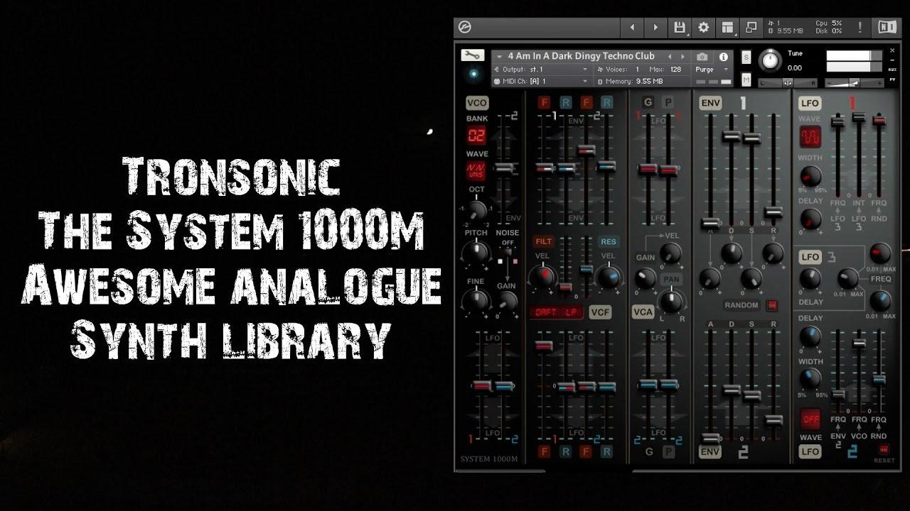 [DTMニュース]tronsonic-system-1000m-1