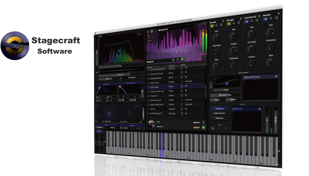 [DTMニュース]stagecraft-infinity-synth-1