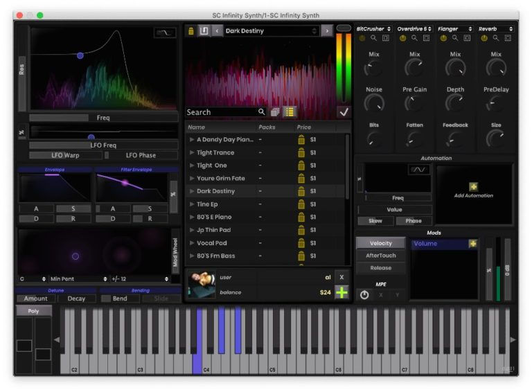 [DTMニュース]stagecraft-infinity-synth-2
