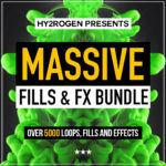 [DTMニュース]HY2ROGEN「Massive Fills & FX Bundle」EDM系おすすめサンプルパック紹介!