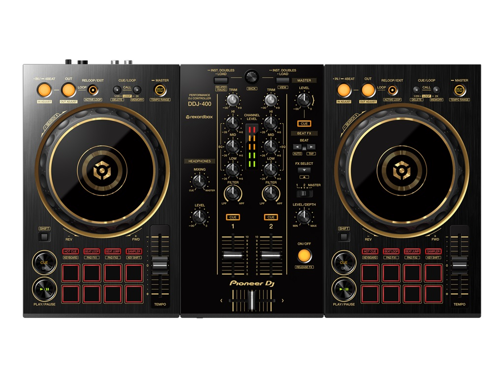 [DTMニュース]pioneer-dj-ddj-400-n-gold