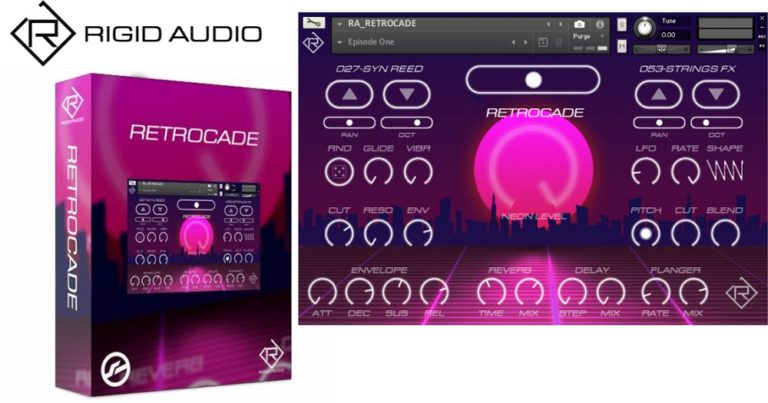 [DTMニュース]rigid-audio-retrocade-2