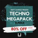 [DTMニュース]Unity Records「TECHNO MEGAPACK bundle」テクノ系おすすめサンプルパック紹介!