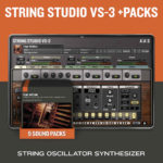 [DTMニュース]AASのサウンドバンクとセットになった「String Studio VS-3 + PACKS」が50%off!