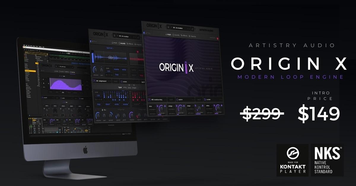 [DTMニュース]artistry-audio-origin-x-1200 x 627