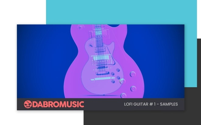 [DTMニュース]dabro-music-lofi-guitar-samples-1-2