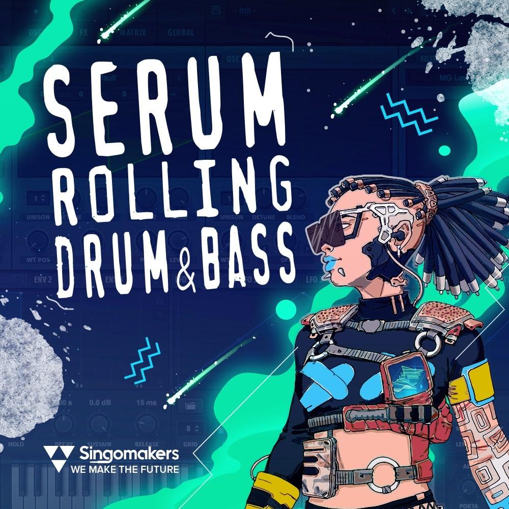 [DTMニュース]singomakers-serum-drum-bass-1