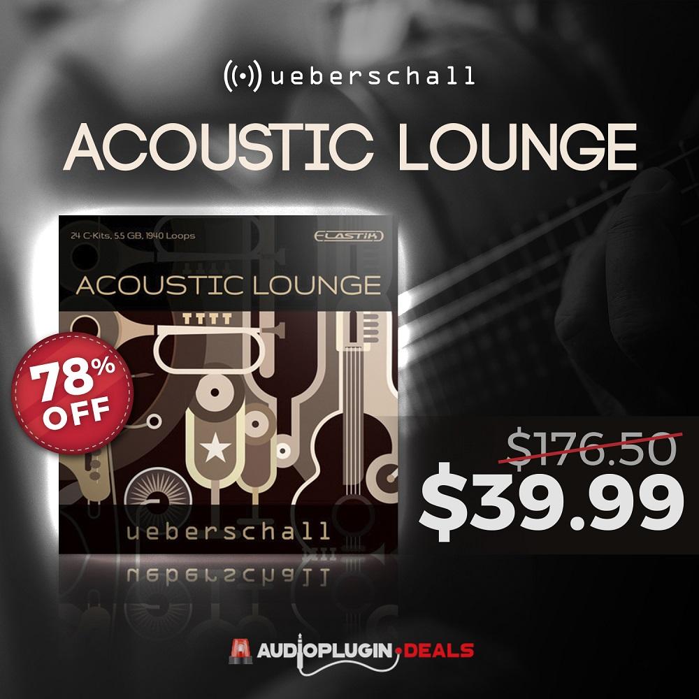 [DTMニュース]ueberschall-acoustic-lounge