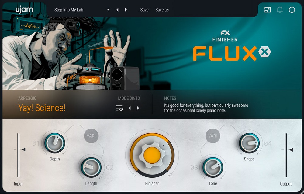 [DTMニュース]ujam-finisher-fluxx-2