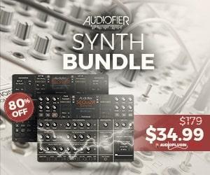 [DTMニュース]audiofier-synth-bundle-w