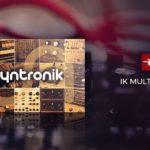 [DTMニュース]IK MULTIMEDIAの17のシンセサイザーを収録した「SYNTH BUNDLE」が77%off!