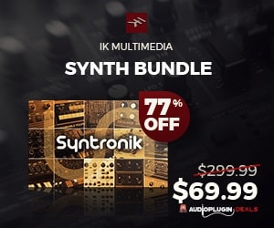 [DTMニュース]ik-multimedia-synth-bundle-w
