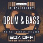 [DTMニュース]Loopmastersのブラックフライデー限定ドラムンベース系サンプルパック「Black Friday Drum & Bass Artist Trilogy Bundle」が販売中!