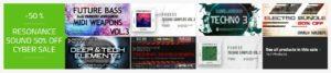 [DTMニュース]resonance-sound-black-friday-2020-1