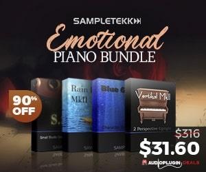 [DTMニュース]sampletekk-emotional-piano-bundle-wg