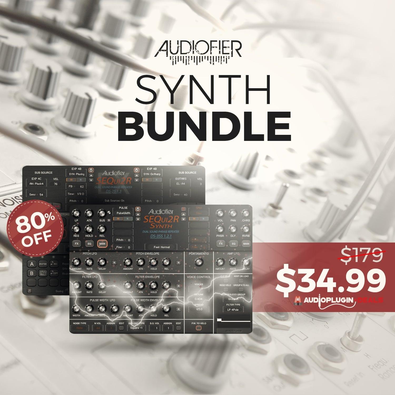 [DTMニュース]audiofier-synth-bundle-2