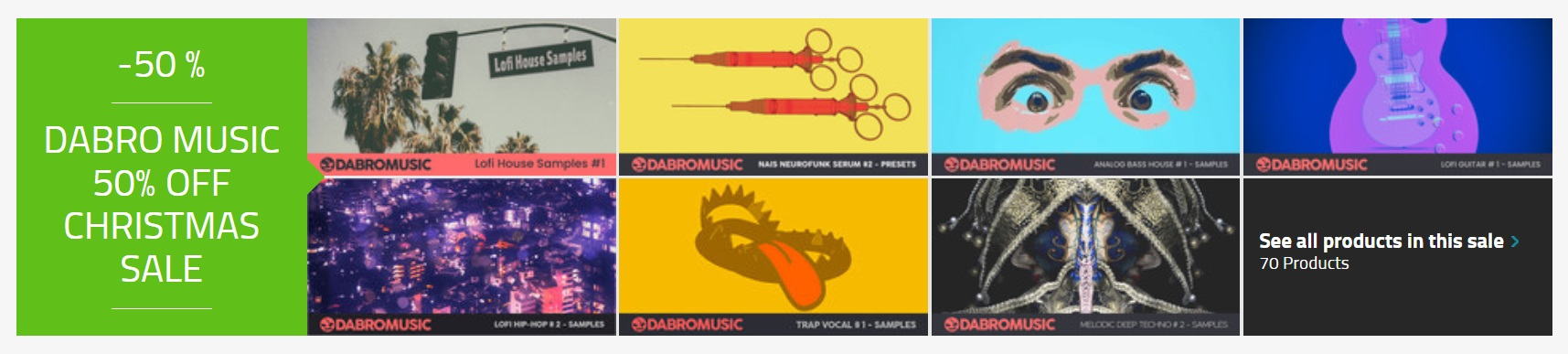 [DTMニュース]dabro-music-holiday-sale-2020-1
