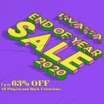 [DTMニュース]Kuassaが「End Of Year Sale」を開催中!プラグイン各種が最大63%off!