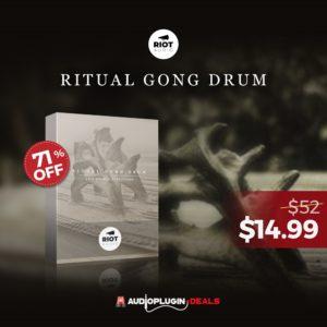[DTMニュース]riot-audio-ritual-gong-drum-2