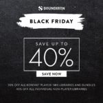 [DTMニュース]Soundironが「Black Friday Sale」を開催中!KONTAKTインストゥルメント各種が最大40%off!