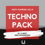[DTMニュース]Unity Records「Unity Samples Vol.19 by D-Unity, Dino Maggiorana」テクノ系おすすめサンプルパック!
