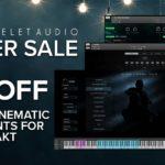 [DTMニュース]Wavelet Audioが「Winter Sale」を開催中!プラグイン各種が最大57%off!