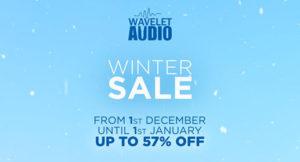 [DTMニュース]wavelet-audio-winter-sale-2020-2