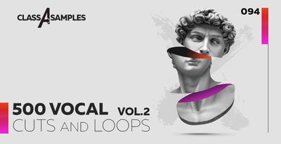 ClassASamples 500 Vocal Cuts & Loops Vol 2