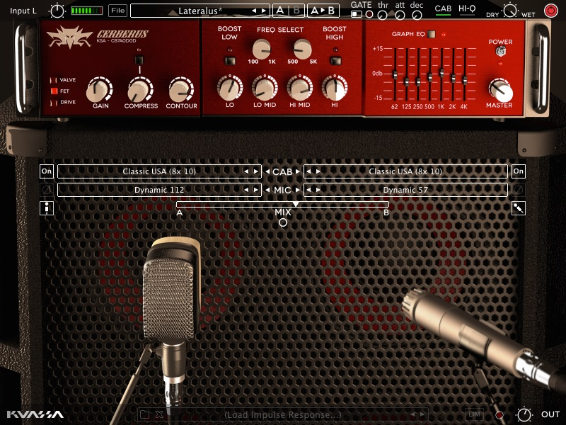 Kuassa Cerberus Bass Amplifikation
