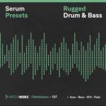 [DTMニュース]Loopmasters「Rugged Drum & Bass – Serum」ドラムンベース系おすすめシンセプリセット!