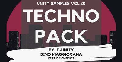 UnityRecords Unity Samples Vol.20 by D-Unity, Dino Maggiorana feat. D.Mongelos