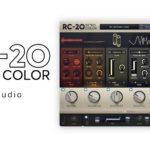 [DTMニュース]XLN Audioのクリエイティブなエフェクトプラグイン「RC-20 Retro Color」が41%off!