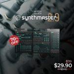 [DTMニュース]KV331 Audioのマルチアルゴリズムオシレーターを搭載したシンセサイザー「Synthmaster 2.9」が70%off!