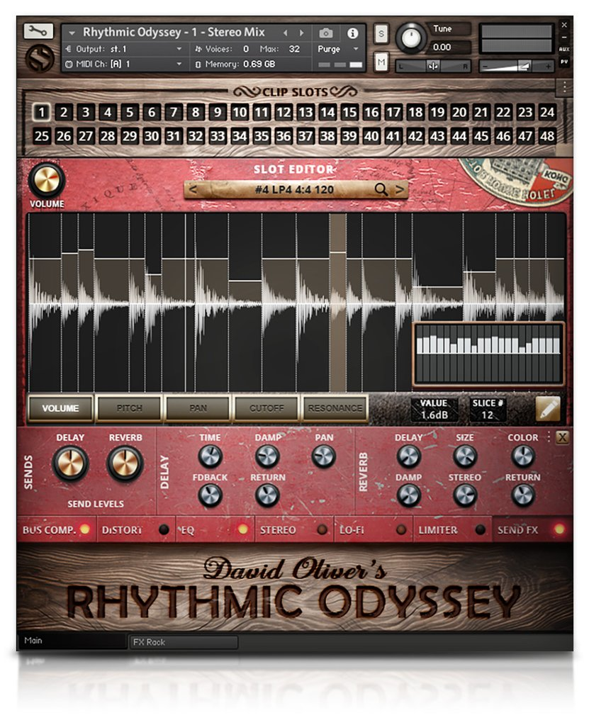 Soundiron Rhythmic Odyssey