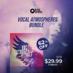 [DTMニュース]Black Octopus Soundのボーカルサンプルパック「Vocal Atmospheres Bundle」が62%off!