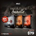 [DTMニュース]Impact Soundworksのアコギライブラリ「Acoustic Revolutions Bundle」が54%off!