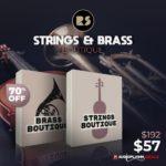 [DTMニュース]Rast Soundのシネマティックライブラリ「Strings & Brass Boutique」が70%off!