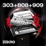 [DTMニュース]ZTEKNO「303+808+909」テクノ系おすすめサンプルパック!