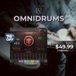[DTMニュース]Have Instrumentsの超リアルで詳細なドラム「OMNIDRUMS」が76%off!
