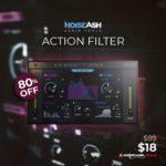 [DTMニュース]NoiseAshの13の人気のあるフィルターモデルを備えたプラグイン「Action Filter」が80%off!