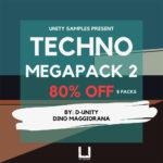 [DTMニュース]Unity Records「Unity Samples Present – Techno Megapack Bundle 2」テクノ系おすすめサンプルパック!