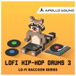 [DTMニュース]APOLLO SOUND「LoFi Hip Hop Drums 3」ヒップホップ系おすすめサンプルパック!